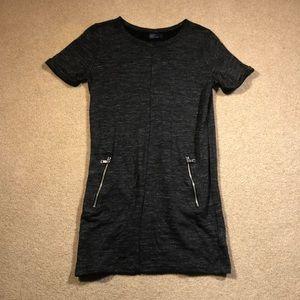 Gap Charcoal Gray Dress